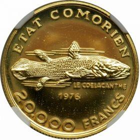 Монета Коморских Островов