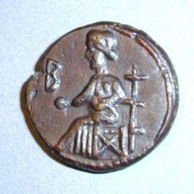 Монета царя Ининфимея