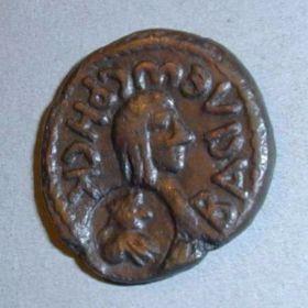 Медная монета Рискупорида V