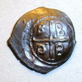 Редкая монета  Византии