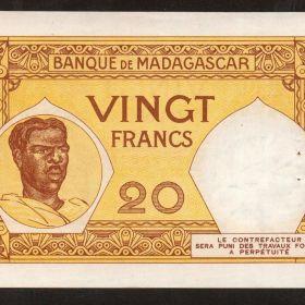 Банкноты колониального Мадагаскара