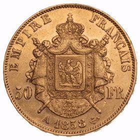 Монета Наполеона III