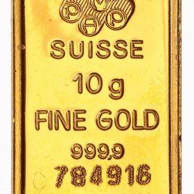 Золотые слитки Швейцарии