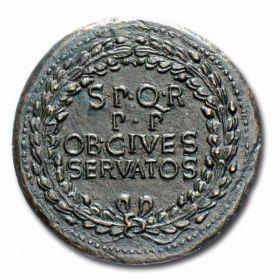 Монеты Калигулы и Клавдия