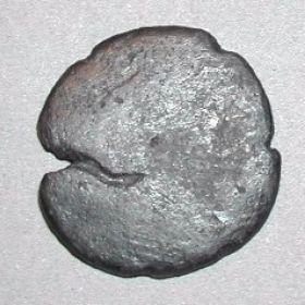 Монета из Тиры с тремя надчеканками