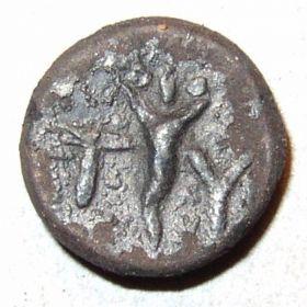 Монета Тиры с Афиной