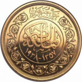 Золотые монеты Египта