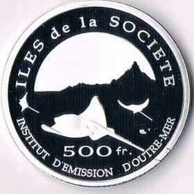 Монеты Французской Полинезии