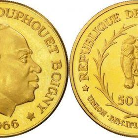 Монета Кот-д'Ивуара