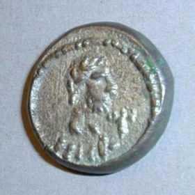 Боспорский статер 251 г. н.э. с трезубцем
