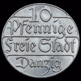 Монета Данцига
