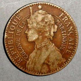 Монета Мартиники
