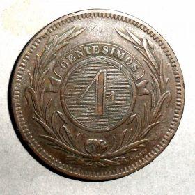 Монета Уругвая