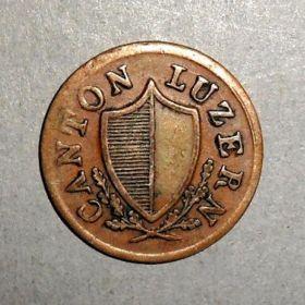 Монета кантона Люцерн