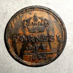 Монета Королевства обеих Сицилий