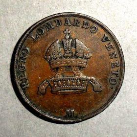 Монета Королевства Ломбардия-Венеция