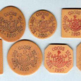Монеты Кокосовых Островов
