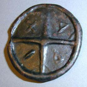 Ольвийский асс. 438-410 гг. до н.э.