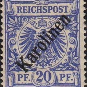 Колониальные марки Каролинских Островов