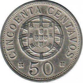 Монеты колонии Ангола