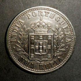Монета Португальской Индии