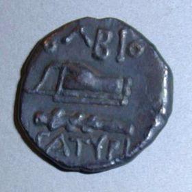 Тетрахалк Ольвии с именем CATYPI