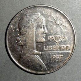 Куба. Песо 1937 г.