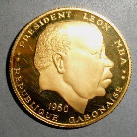 Габон. 50 франков 1960