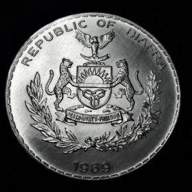 Биафра. 1 фунт 1969
