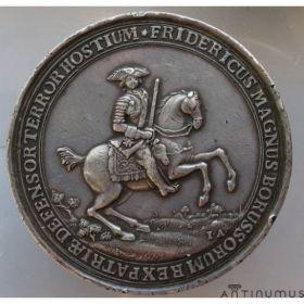 Пруссия. Медальный талер Фридриха II