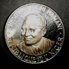 Нигер. 1000 франков 1960