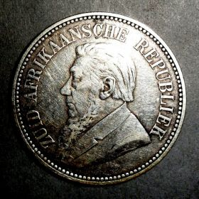 Южная Африка. 2,5 шиллинга 1894
