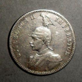 Германская Восточная Африка. 1/2 рупии 1901