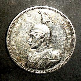 Германская Восточная Африка. 1 рупия 1890