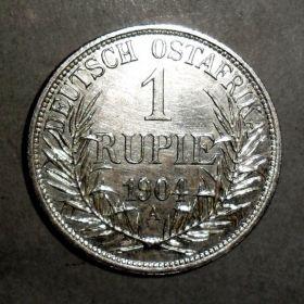 Германская Восточная Африка. 1 Рупия 1904