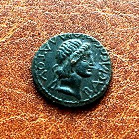 Боспор. Митридат III. Ассарий. 120 $