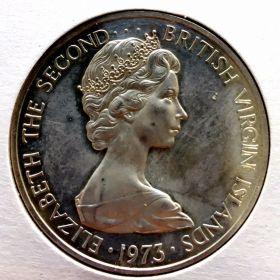 Британские Виргинские Острова. Доллар 1973 г. 60 $