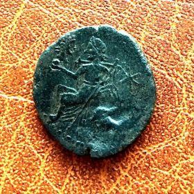 Рескупорид III. Денарий . 380