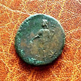 Рескупорид III. Денарий. 450