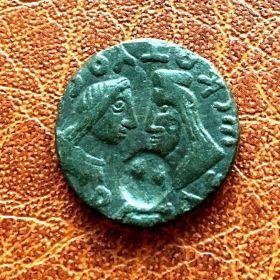 Котис III. Двойной денарий. 270
