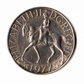 Великобритания. 25 пенсов 1977 г.