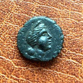 Ольвия. Дихалк царя Скилура. 130-120 гг. до н.э.