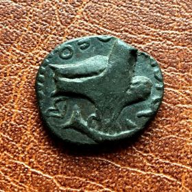 Ольвия. Дупондий. 74-75 гг. н.э.