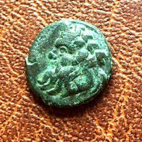 Пантикапей. Лепта. 393-389 гг. до н.э.