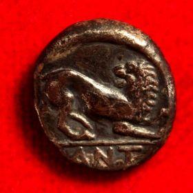Пантикапей. Гемидрахма. 334-324 гг. до н.э.