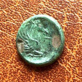 Пантикапей. Дихалк. 314-310 гг. до н.э.