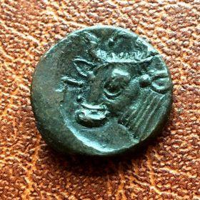 Пантикапей. Лепта. 284-275 гг. до н.э.