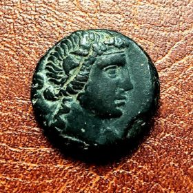 Пантикапей. Обол. 80-70 гг. до н.э.