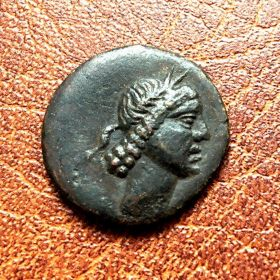 Пантикапей. Тетрахалк. 37-27 гг. до н.э.