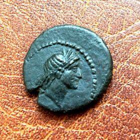 Пантикапей. Тетрахалк. 27-21 гг. до н.э.